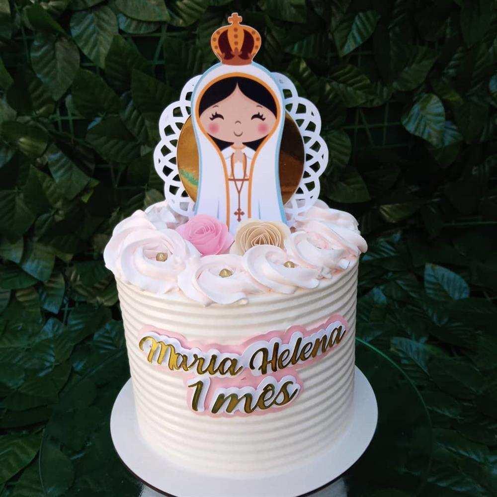bolo nossa senhora de fatima