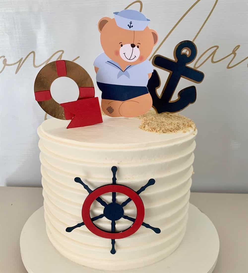 tema ursinho marinheiro