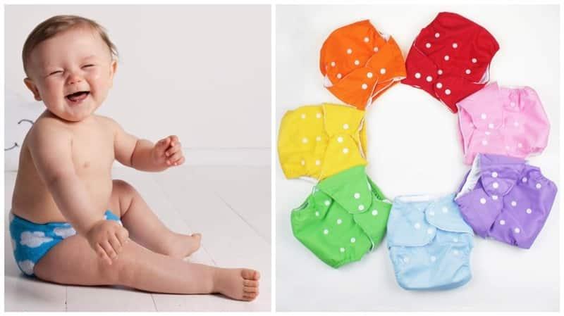 fralda ecologica para bebe