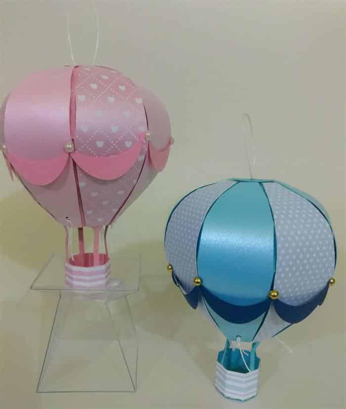 balões de papel para lembrancinha