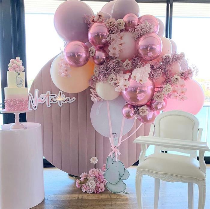 decoração com balões fácil de fazer