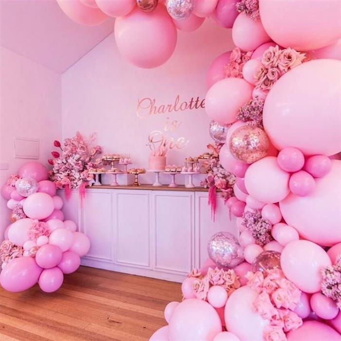 decoração com balões gigantes