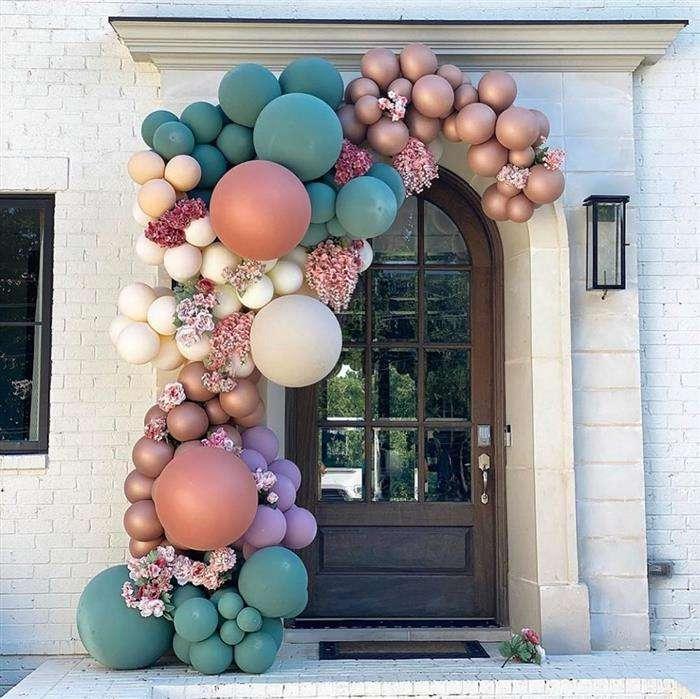 decoração com balões personalizados