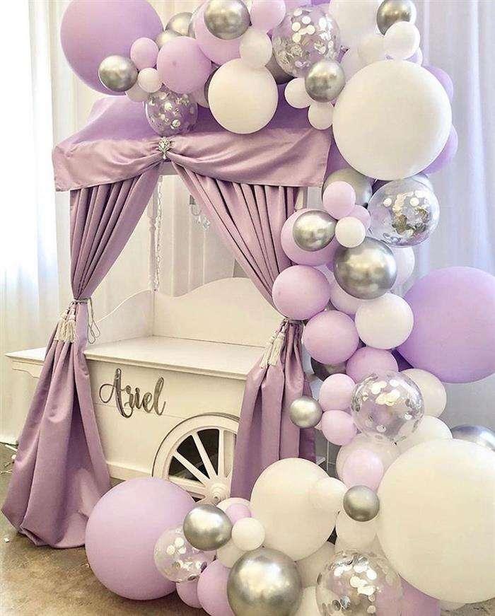 decoracao com baloes