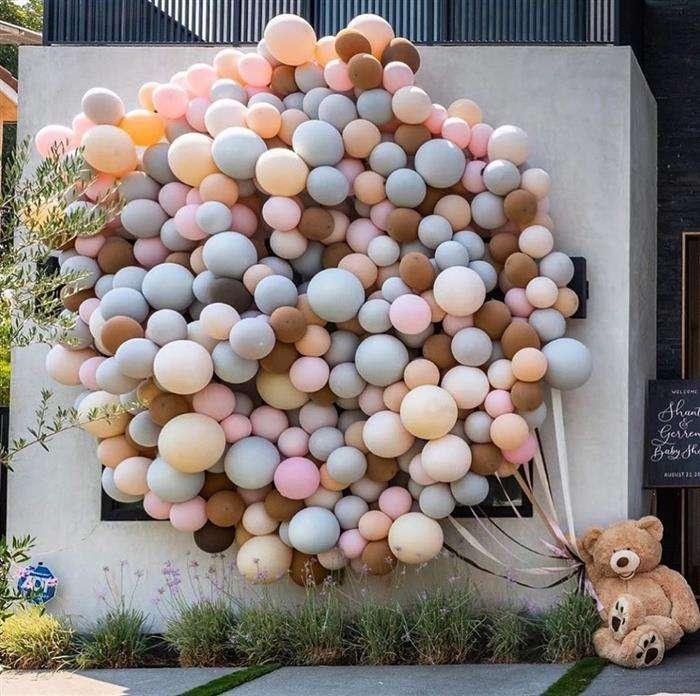ideias de decoração com balões