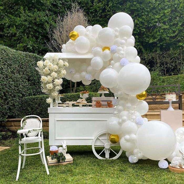 ideias para decoração com balões