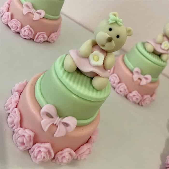 doces finos para cha de bebe