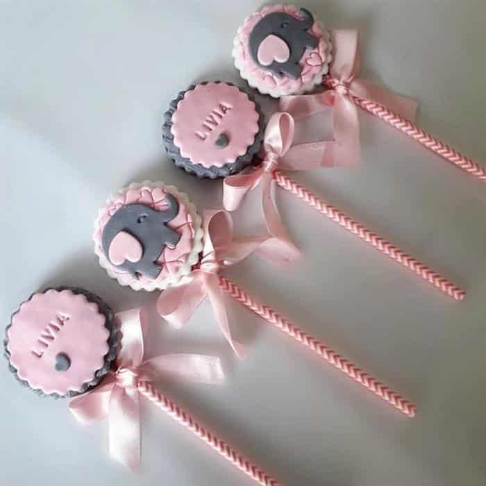 doces para cha de bebe personalizado