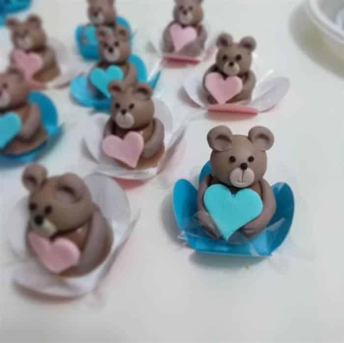 doces para cha de bebe revelação
