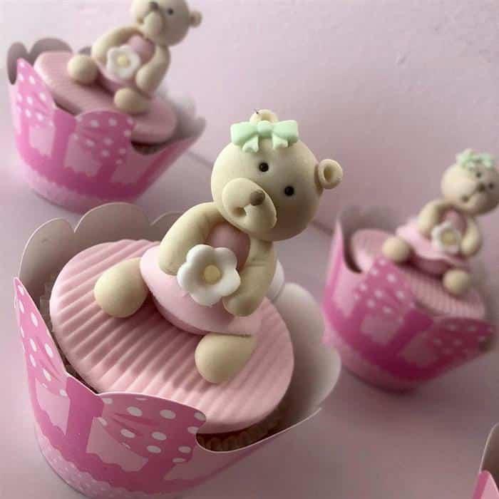 docinhos para cha de bebe feminino