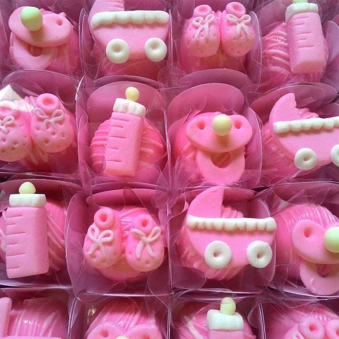 enfeites de doces para cha de bebe