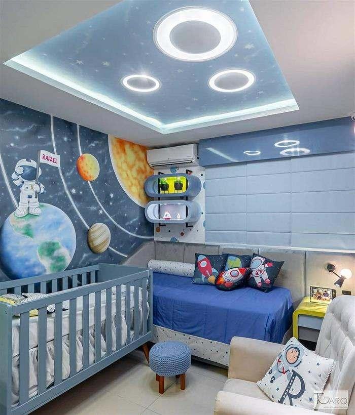quarto astronauta para bebe