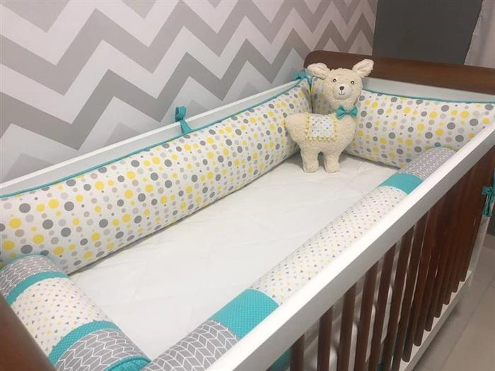 quarto de bebe lhamas
