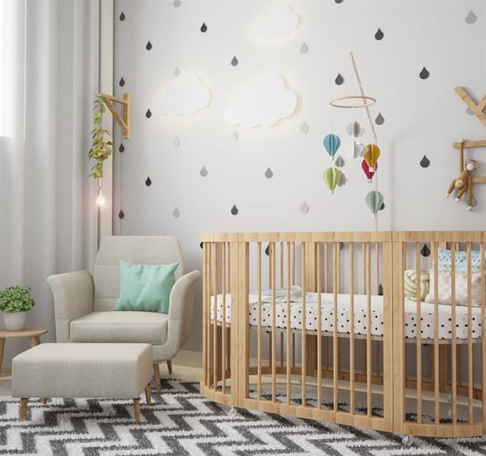 quarto de bebe masculino completo