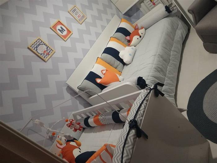 quarto de bebê masculino decorado