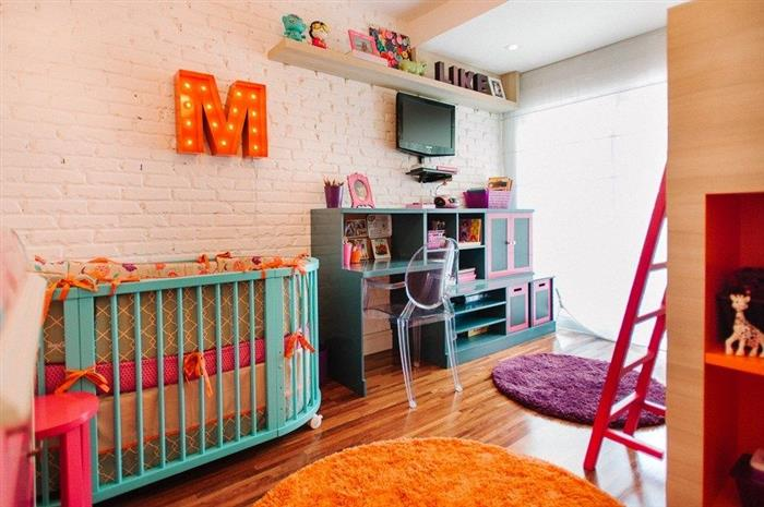 cores quarto de bebe feminino