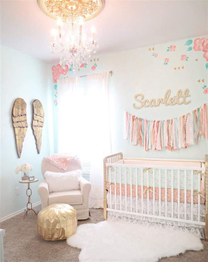 quarto anjos para bebe