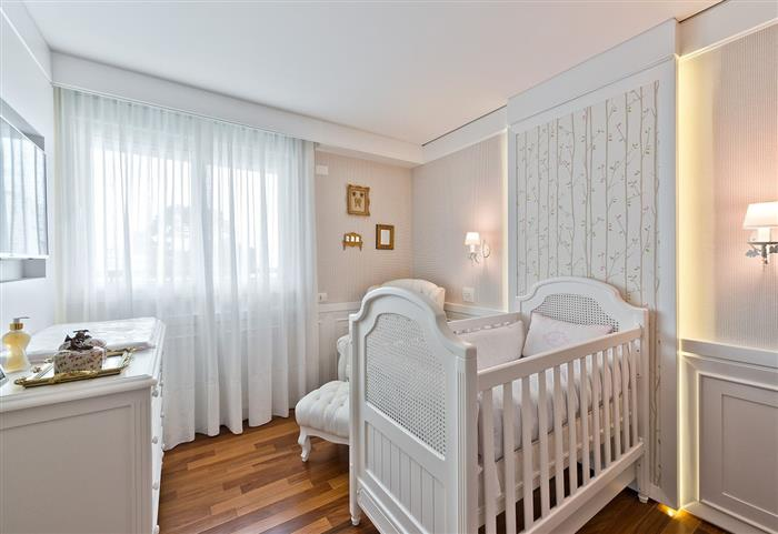 quarto de bebe feminino classico
