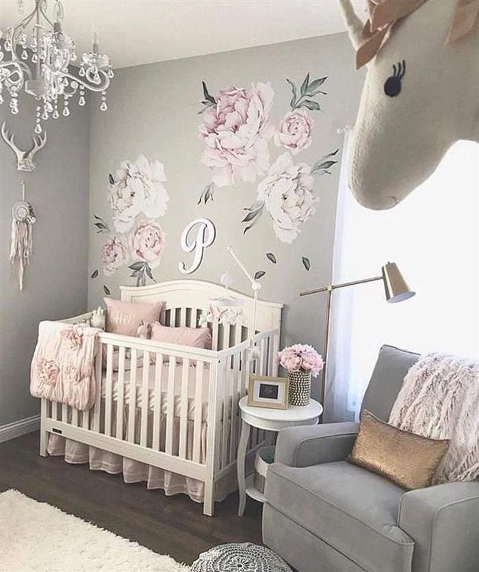 quarto de bebe feminino estilo provençal