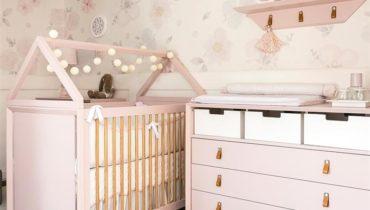 quarto de bebe feminino nuvens