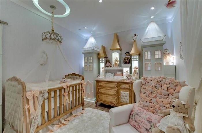 quarto de menina castelo