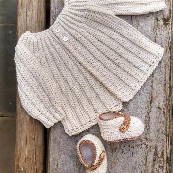 conjuntinho de croche