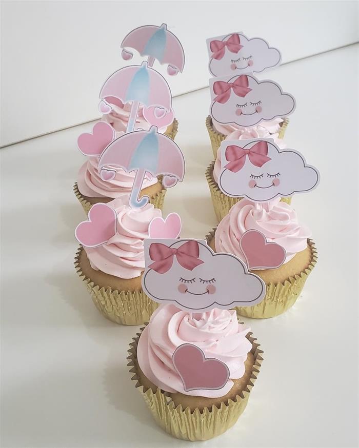 cupcake decorado