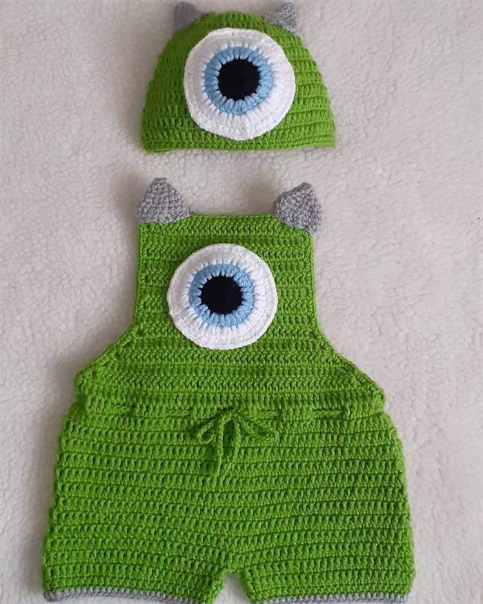 roupas de bebe em croche para fotos