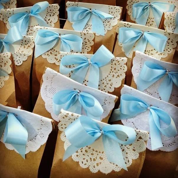 sacolinha decorada com guardanapo