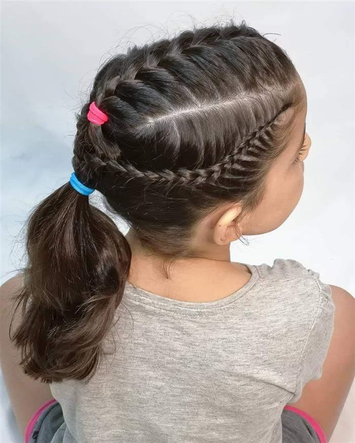 cabelos despojado infantil