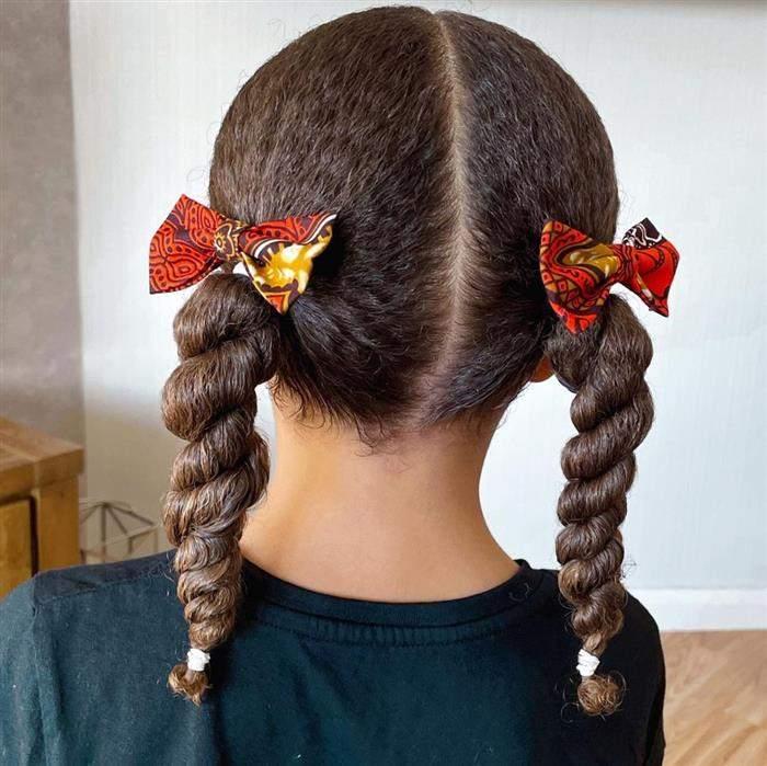 penteado infantil em cabelo crespo