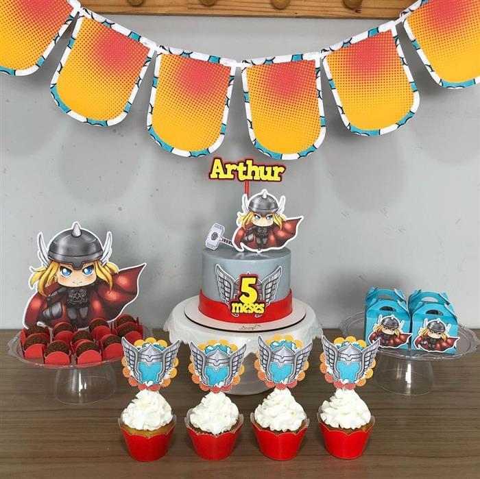 temas de bolo de mesversário
