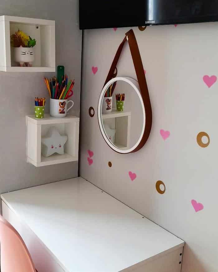 decoração de quarto infantil com adesivos
