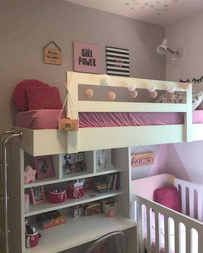 decoração de quarto infantil e bebe juntos