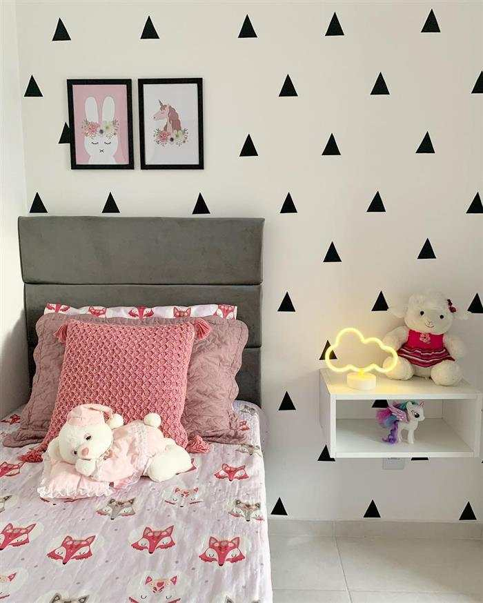 decoração de quarto infantil pequeno