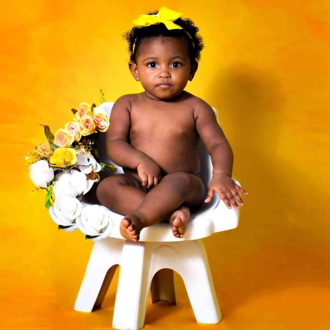 fotos criativas de bebês