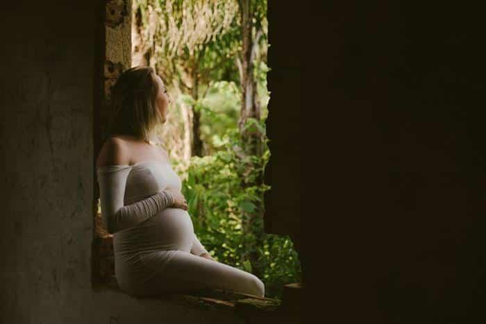 fotos de grávida ao ar livre