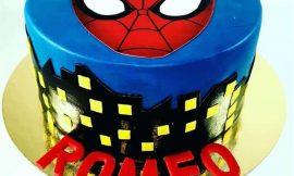 Bolo Homem-Aranha: Redondo, quadrado, de 2 andares e topper criativo
