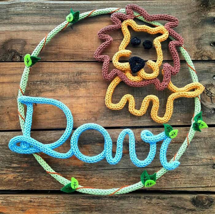 Read more about the article Decoração infantil com tricotin: Como fazer e tutoriais