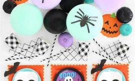 Ideias fofas para decorar um mesversário Halloween