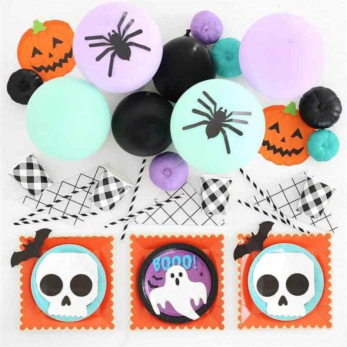 You are currently viewing Ideias fofas para decorar um mesversário Halloween
