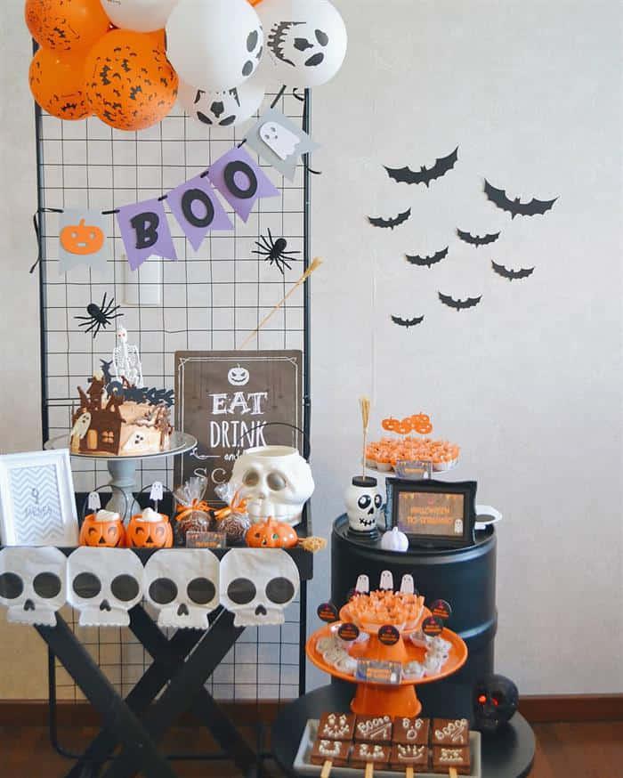 halloween ideias de decoração