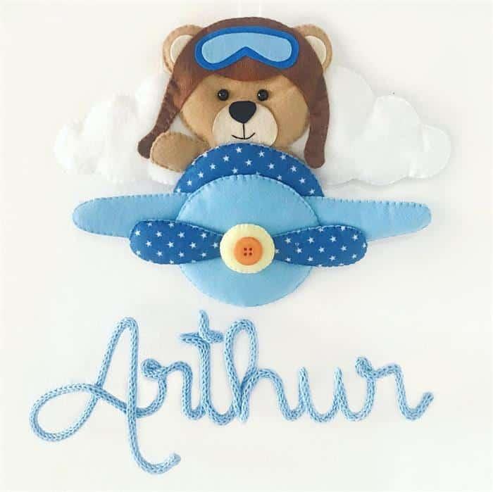Ursinho-aviador