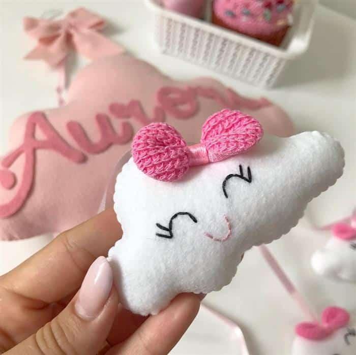 Read more about the article Como fazer nuvem de feltro para decorar o quarto do bebê